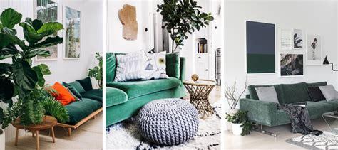 canap velours vert deco salon avec canape bleu chaios com