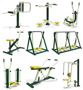 safe and relaxing outdoor fitness equip outdoor exercise
