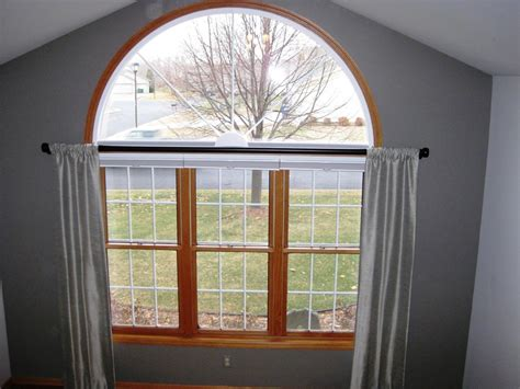 arched window treatments lowes home design  moon