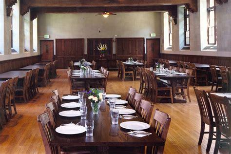 dining hall garrison institute