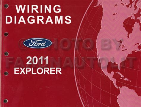 Ford Explorer Wiring Diagram Manual Original