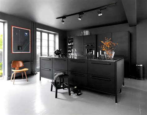 black kitchen designs photos kitchen design trends 2016 2017 interiorzine 4700