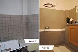 Carrelage Avant Ou Apres Receveur : salle de bain aix b ton luxe ~ Nature-et-papiers.com Idées de Décoration