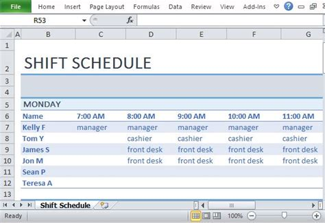 How To Make A Form Work In Html by How To Make A Work Schedule For Employees Free Printable