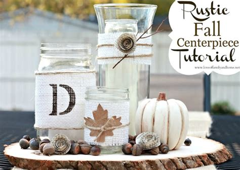 31 Rustic Diy Home Decor Projects: 31 Days Of Fall: 20+ Easy Fall Centerpiece Ideas