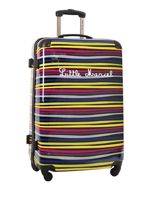 valise 4 roues rigide marcel multicolor zebre zebras l
