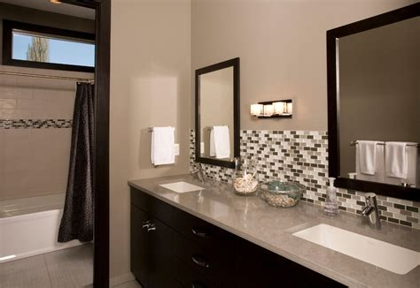 Contemporary Bathroom Backsplash Ideas by 25 Bathroom Backsplash Designs Decorating Ideas Design