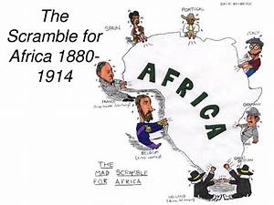 Factors which led the scrambled and partition of Africa ...