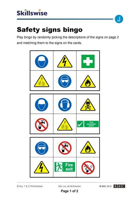 Safety Signs Printable Kindergarten Worksheets Safety Best Free Printable Worksheets