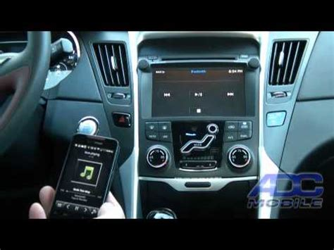 hyundai sonata advent oe navigation bluetooth audio