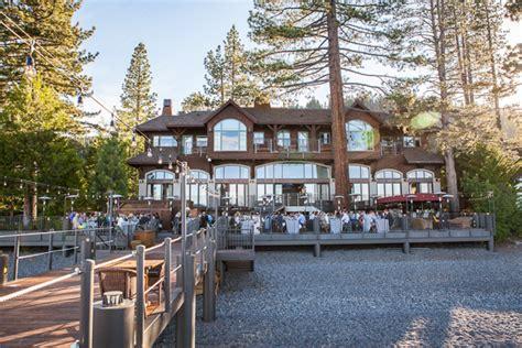 west shore cafe wedding   fine day  lake tahoe