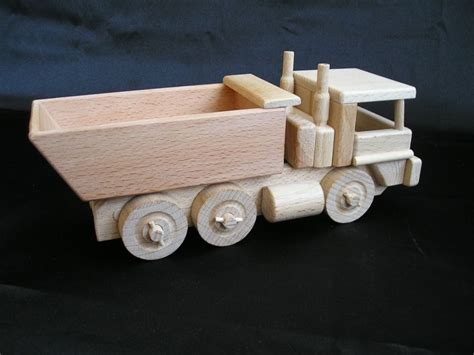 dump trucks wooden cool toy wooden gifts soly
