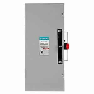 Siemens Double Throw 100 Amp 240