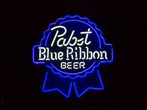 Wiki Neon Sign Blog PABST Blue Ribbon Beer Bar Club Neon