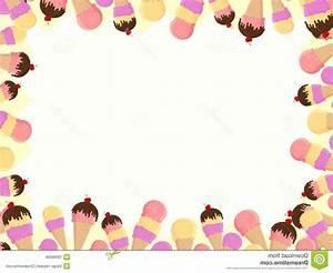 Unique Ice Cream Border Clip Art Image » Free Vector Art ...