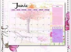 Planificador Mensual, Calendario 2018, Planificadores