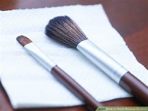 3 Simple Ways to Clean Makeup Brushes  wikiHow