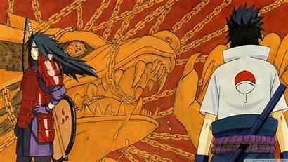 Naruto Madara Sasuke Uchiha Wallpapers Desktop Wide