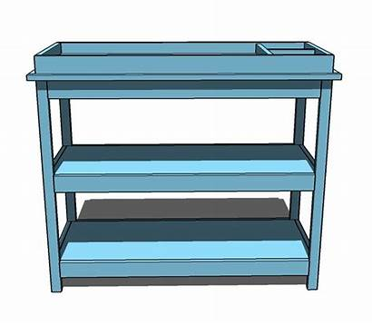 Changing Table Plans Diy Clipart Furniture Simple