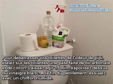 comment d 233 barrasser vos toilettes de l odeur de pipi