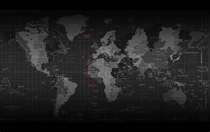 Map Wallpapers Widescreen Background Dark Desktop Countries