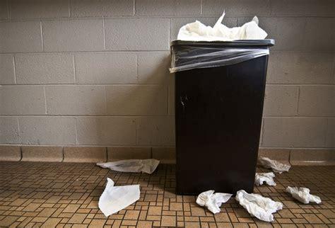 throwing paper towel uw sustainability