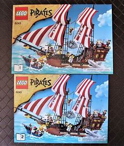 Lego Instruction Manuals 183449  Lego 6243 Pirates