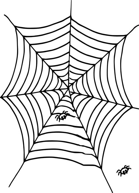 coloriage toile d araign 233 e 224 imprimer