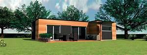 Maison Préfabriquée En Bois : maison bois maison moderne ~ Premium-room.com Idées de Décoration