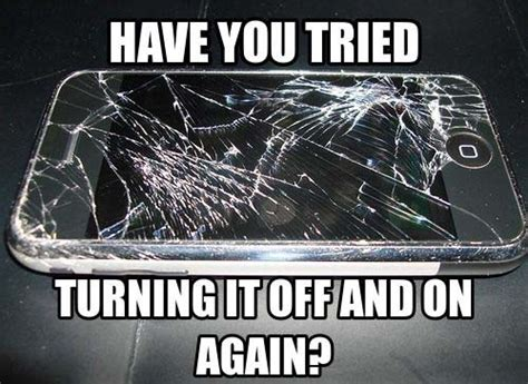 Cracked Phone Meme - cracked broken phone meme funny 02 my favorite daily things