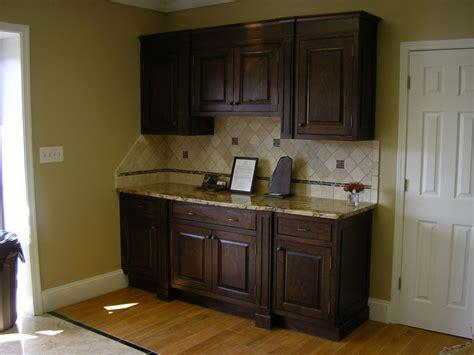 hand  walnut cabinets   tree   custom