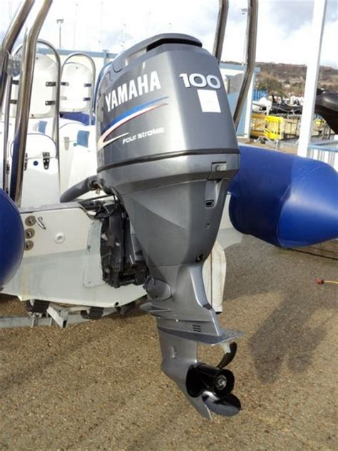 Yamaha Outboard Motors In Canada by Used Yamaha 100hp 4 Strokes Outboard Motor Id 9209630