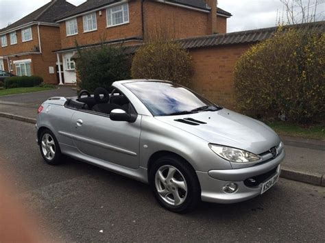Peugeot 206 Convertible by Peugeot 206 Cc 1 6 Convertible 2004 04 Other Wolverhton