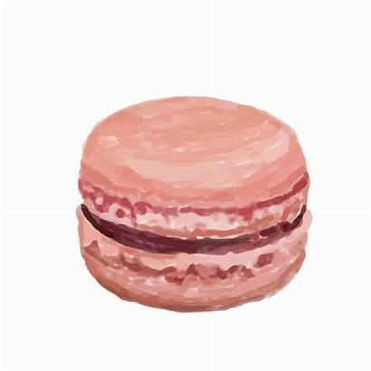 Macaron Watercolor Hand Drawn Vector Clipart Keywords