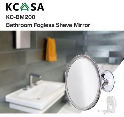 Suction Bathroom Mirror by Kcasa Fogless Shower Mirror Bathroom Anti Fog Wall