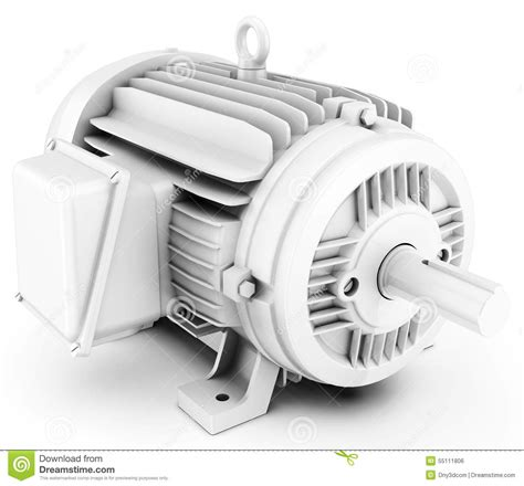 Big Electric Motor by 3d Big Electric Motor Stock Illustration Image Of Gear