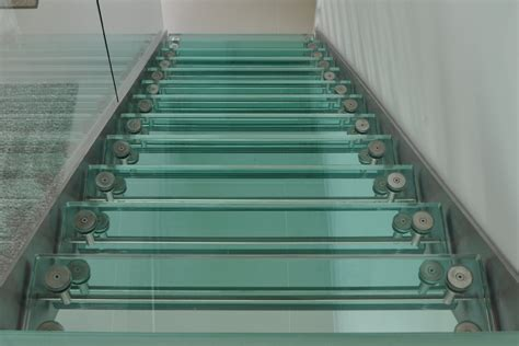 retail showroom design glass staircases glass stairs bespoke design and creation