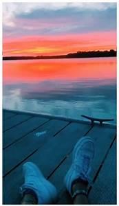 credit to annalisefurr on vsco sunset lake