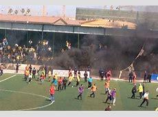 Algérie Chaude Ambiance au stade Lavigerie