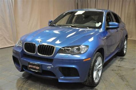 Sell Used 2013 Bmw X6m Monte Carlo Blue X6 M Low Miles
