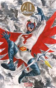Battle of the Planets Mark Art