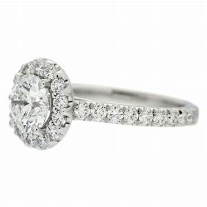 round diamond with round halo engagement ring mouradian With round diamond wedding ring
