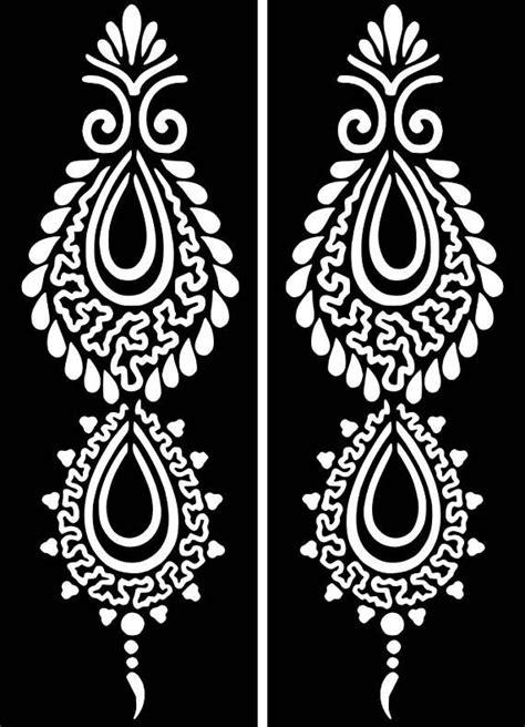Pin by Tarma J. on cricut | Henna stencils, Henna tattoo
