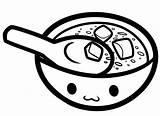 Soup Coloring Bowl Colouring Drawing Pot Printable Miso Results Getdrawings Getcolorings Kidsuki sketch template