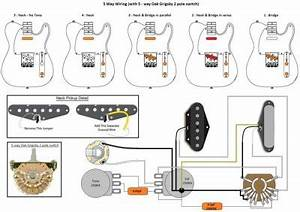 Telecaster 5 Way Super Switch Wiring Diagram
