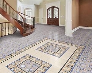 Frise Carrelage Sol : les plus beaux sols en carreaux ciment plus que pro ~ Melissatoandfro.com Idées de Décoration
