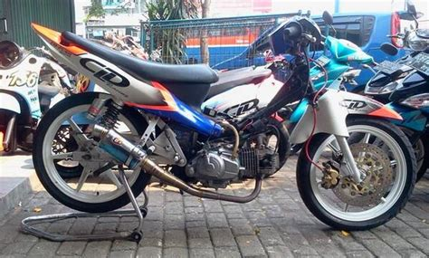 Modif Jupiter Road Race by 40 Gambar Modifikasi Yamaha Jupiter Z Gaya Road Race