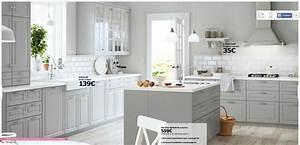 Cuisine Blanche Et Bois Ikea : cuisine cuisine grise et blanche ikea chaios cuisine ~ Dailycaller-alerts.com Idées de Décoration