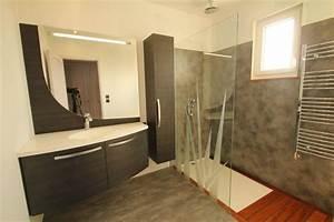 salle de bain en corian dootdadoocom idees de With porte d entrée alu avec miroir rétro éclairé salle de bain