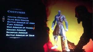 God Of War Ascension all Costumes of Kratos - YouTube